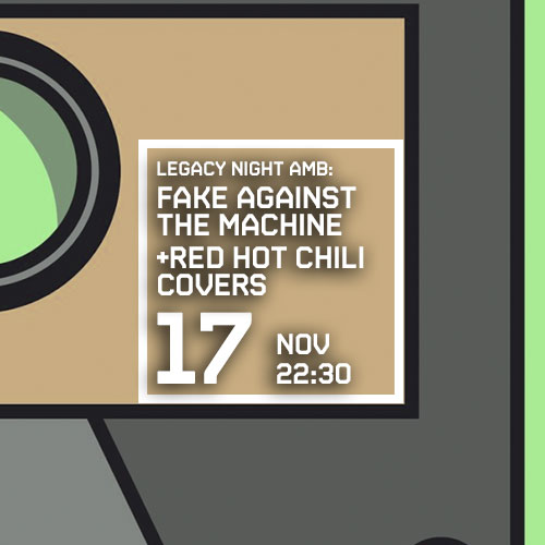 FAKE AGAINST THE MACHINE + RED HOT CHILI COVERS