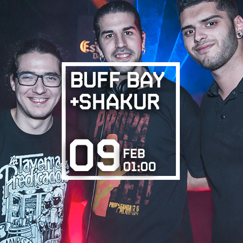 DJ SHAKUR + DJ BUFF BAY